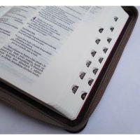Bible ČEP bez DT, střední formát, zip, výřezy Česká biblická společnost