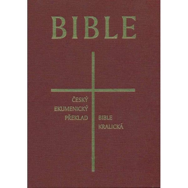 Česká synoptická Bible - tvrdá vazba 1202 Česká biblická společnost