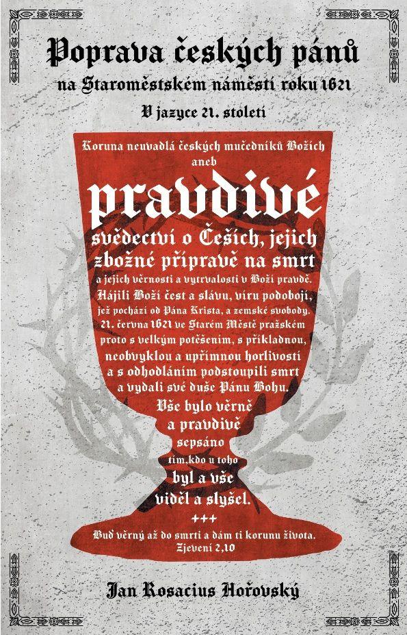 Poprava českých pánů na Staroměstském náměstí roku 1621, V jazyce 21. století Didasko
